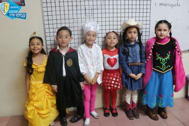 Día del Disfraz Sección Primaria